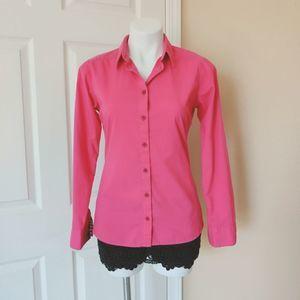 Patagonia organic cotton button front shirt sz 2